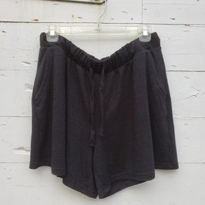 GAP Black softspun shorts